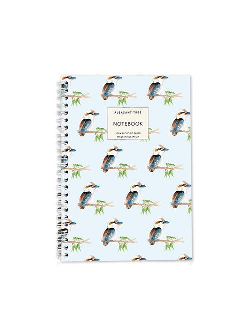 A5 Spiral Notebook - Kookaburras