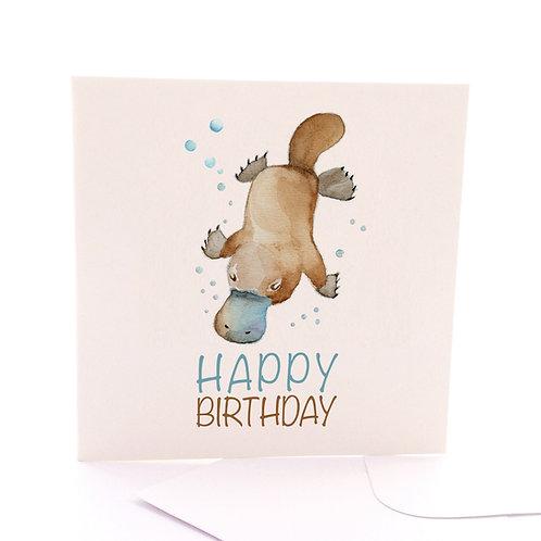 Platypus Birthday