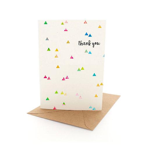 Confetti Thank You
