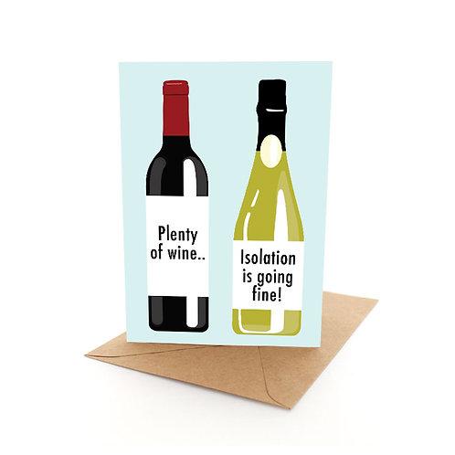 Plenty of Wine