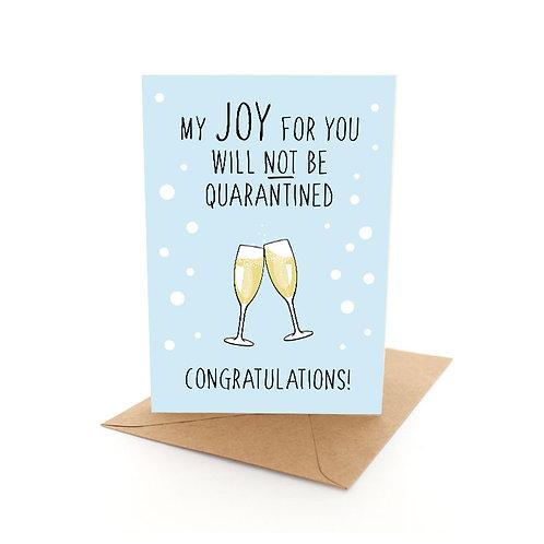 Quarantine Congrats