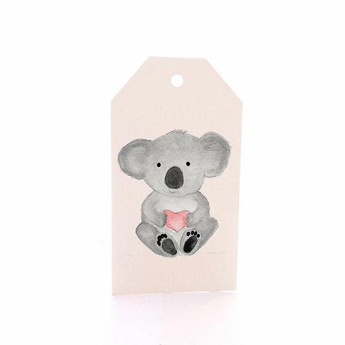 Gift Tag 6 pack - Baby Koala
