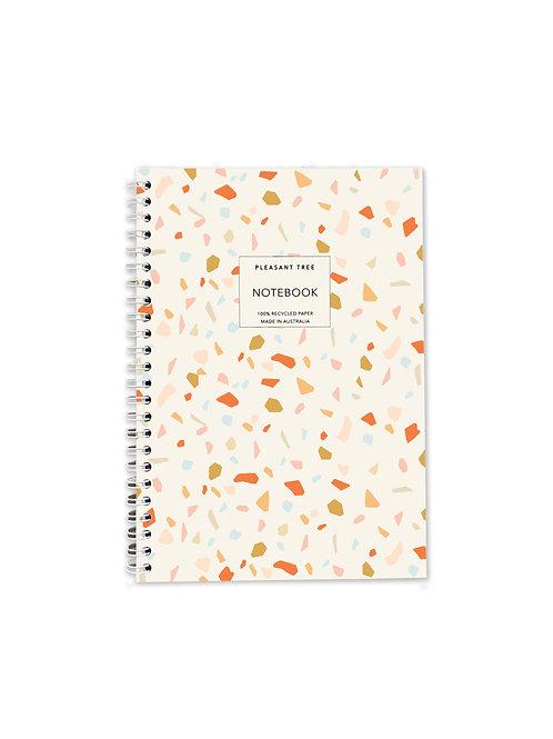 A5 Spiral Notebook - Terrazzo