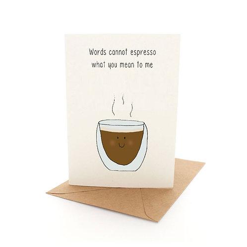 Punny Espresso