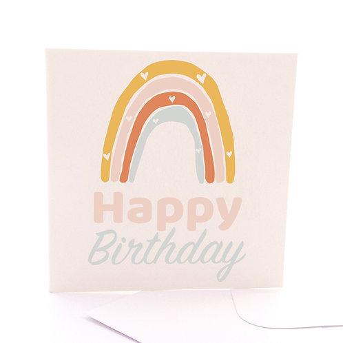 Pastel Birthday Rainbow