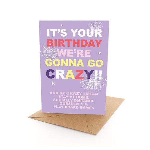 Crazy Birthday