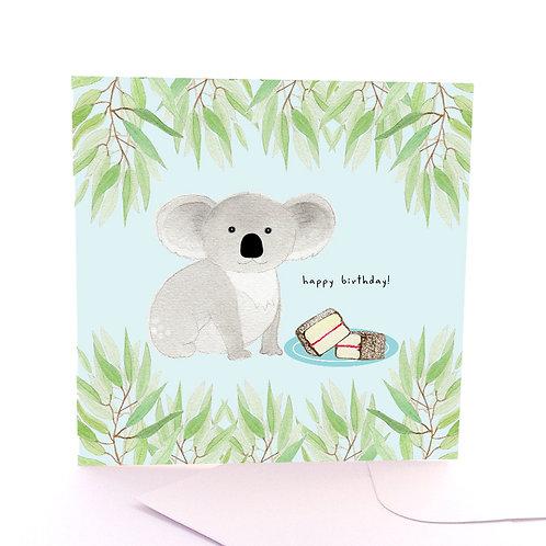 Lamington Koala