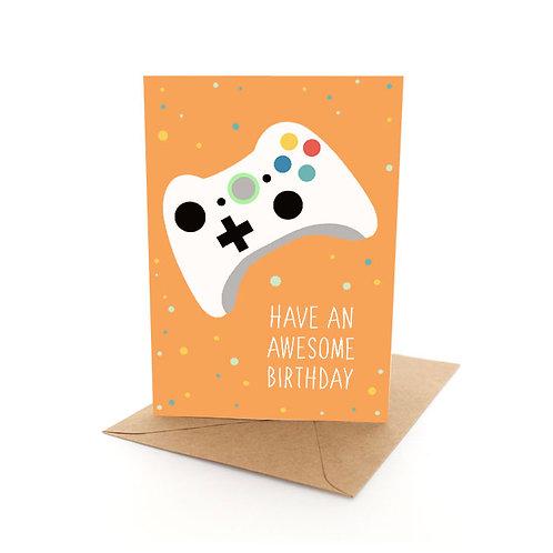 Birthday Gamer