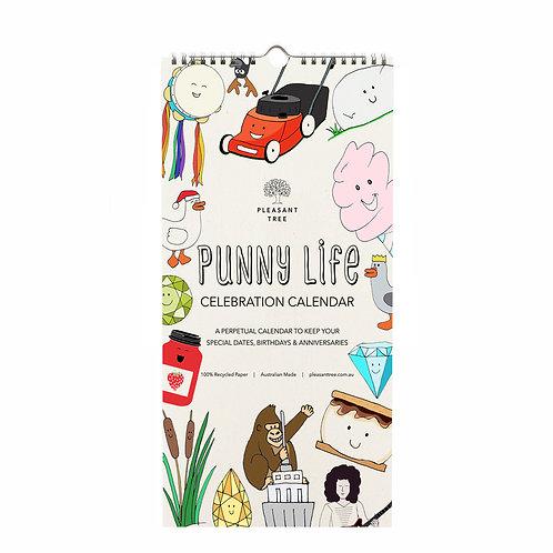 Punny Life Celebration Calendar