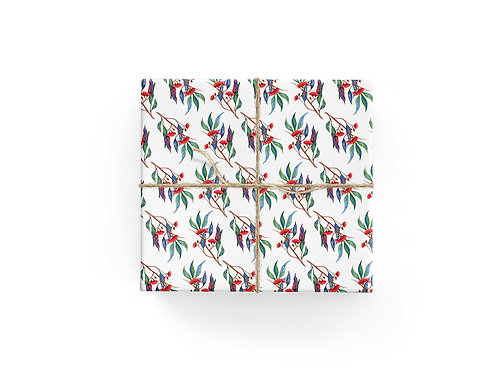 Wrapping Paper - Red Gums