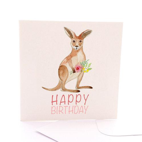 Birthday Kangaroo
