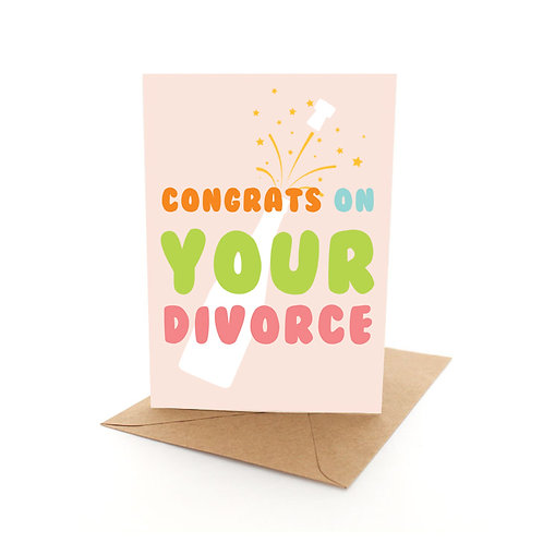 Divorce Congrats