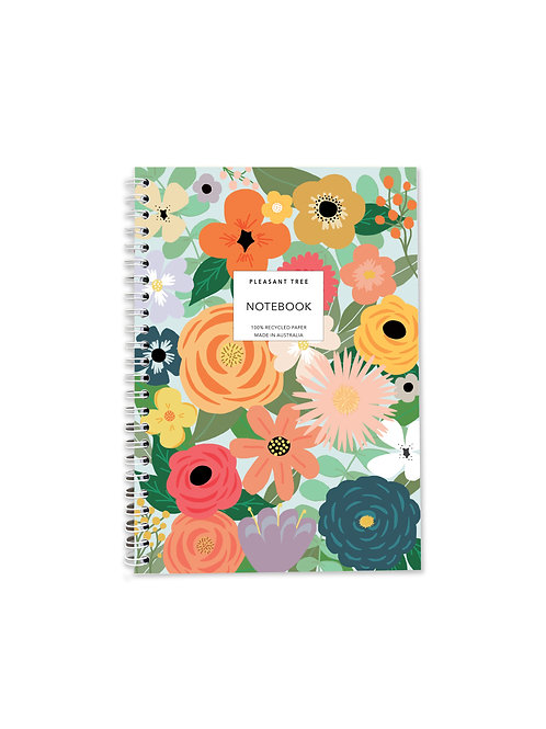A5 Spiral Notebook - Give Me Flowers