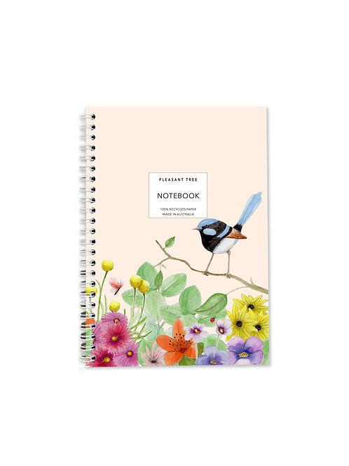 A5 Spiral Notebook - Fairy In The Gar