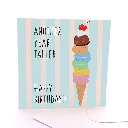 Another Year Taller