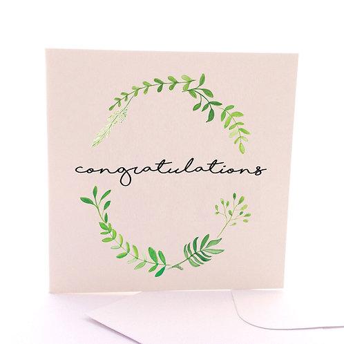 Leafy Congrats