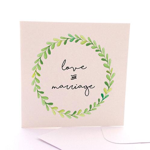 Leafy Marriage