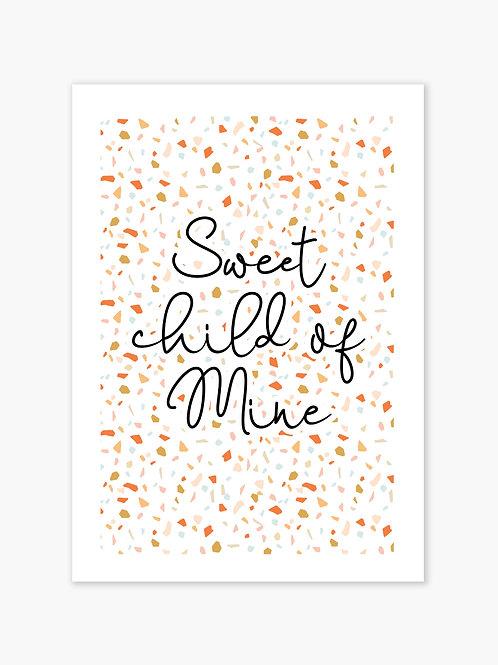 Sweet Child Print