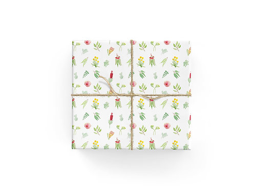 Wrapping Paper - Native Scatter