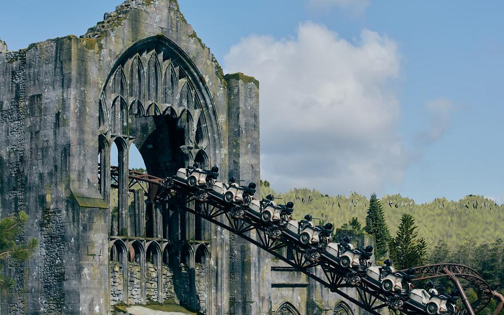 Hagrid queda livre vertical