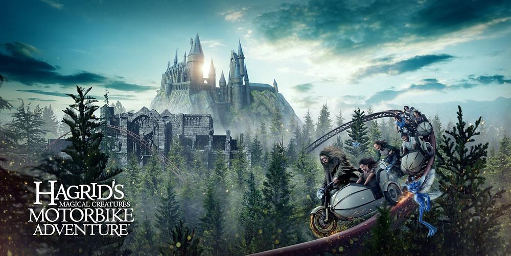 Montanha Russa do Hagrid Islands of Adventure Hagrid's Magical Creatures Motorbike Adventure