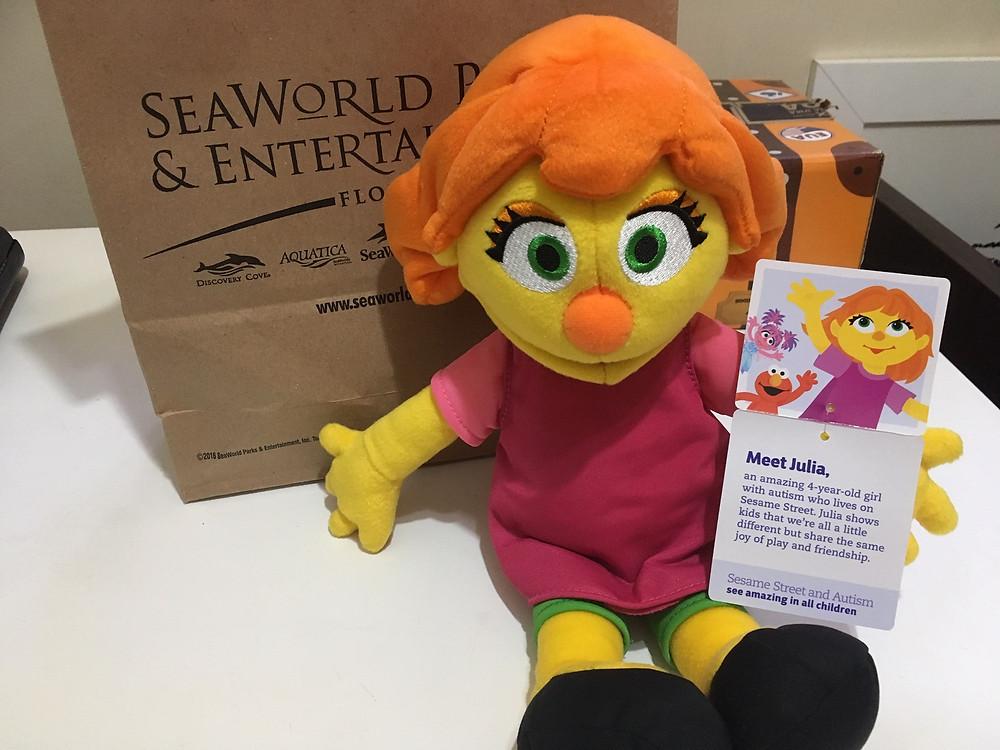 Julia Sesame Street SeaWorld Parks