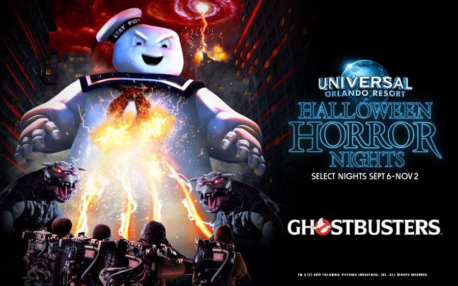 Halloween horror nights ghostbusters