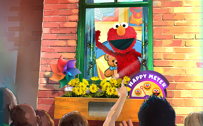 Elmo's window sesame street