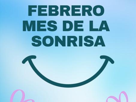 Febrero, mes de la sonrisa