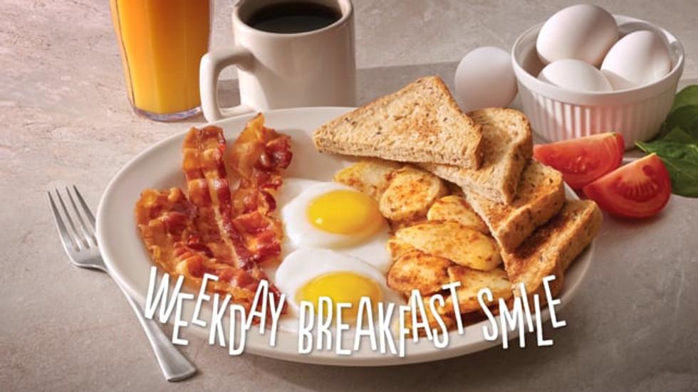 """""""Weekday Breakfast Smile"""""""