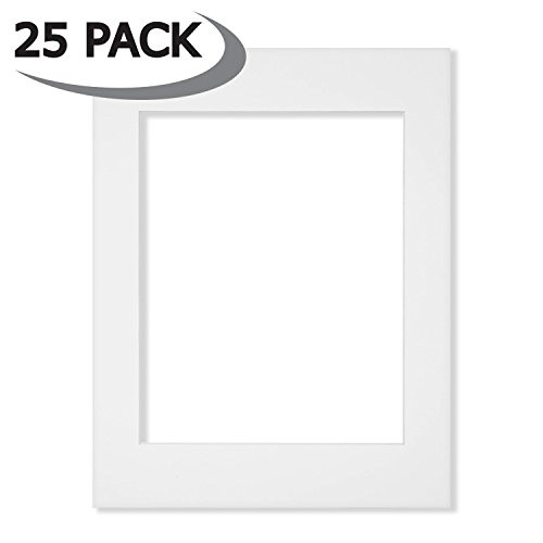 25 Pack of 11x14 White Picture Mats Core Bevel Cut for 8x10 Photos  25  Cardboard. Americanflat  Poster Shop Art  Wholesale Art  Artist Community   SHOP