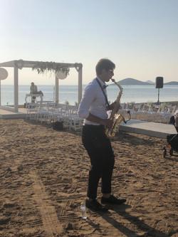 Saxo en La Playa