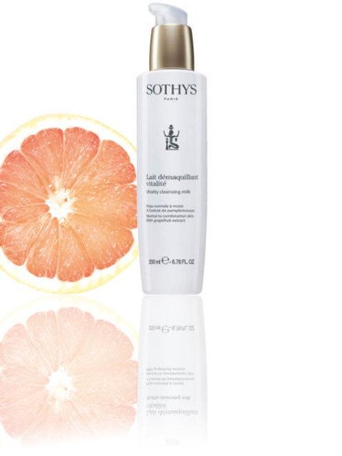 Sothys Lait démaquillant vitalité normale / gemengde huid