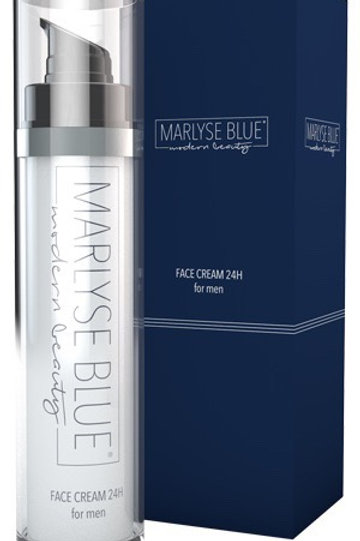 Marlyse Blue face cream 24 h for men