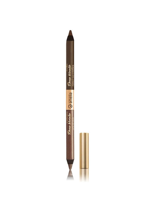 Amelia duo eyepencil deep bronze metallic & deep bronze matte