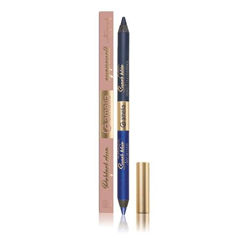 Amelia  duo eyepencil super blue metallic & super blue matte