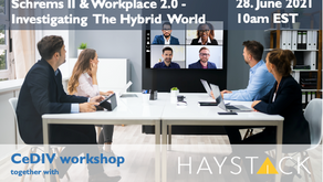 Schrems II & Workplace 2.0 - Investigating the Hybrid World