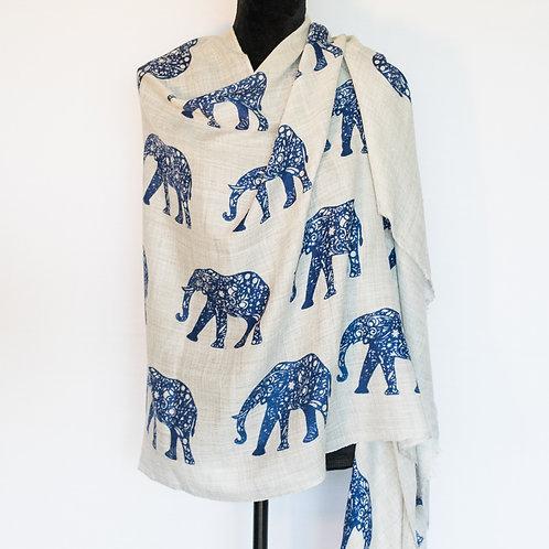 Elephant Parade - Indigo