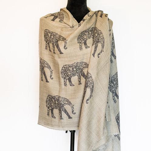 Elephant Parade - light gray