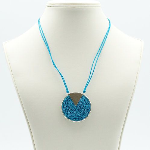 Sterling Triad Necklace - Turquoise