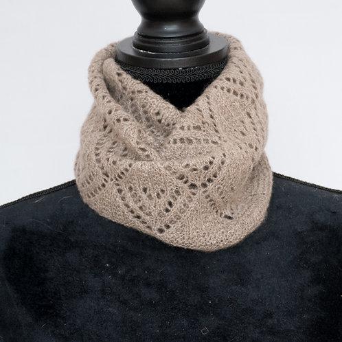 Handspun/Handknit Cashmere Neck Warmer
