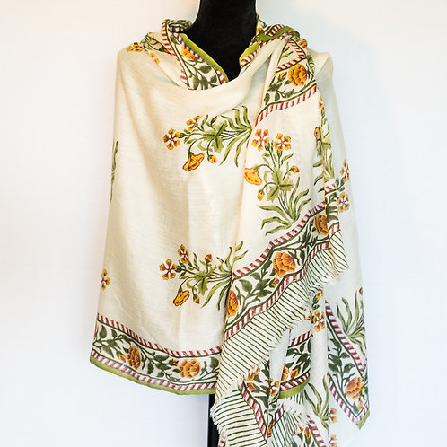 Marigold Blossoms