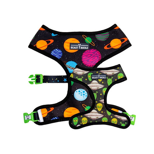 Beast and Buckle Outer Space Reversible harness