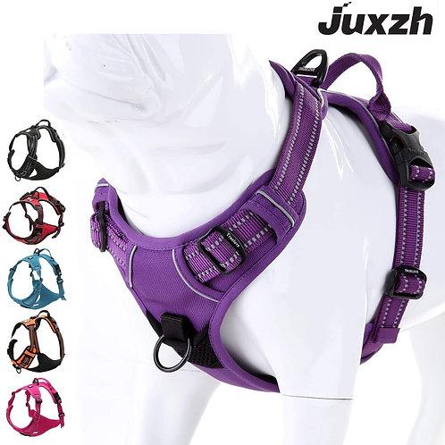 True Love No Pull Dog Harness Vest Nylon Reflective Soft Pet Harness