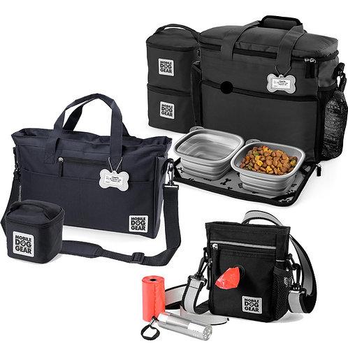 MDG Bundle: Walking Bag, Day Away and Week Away Bag (M/L) (Black)