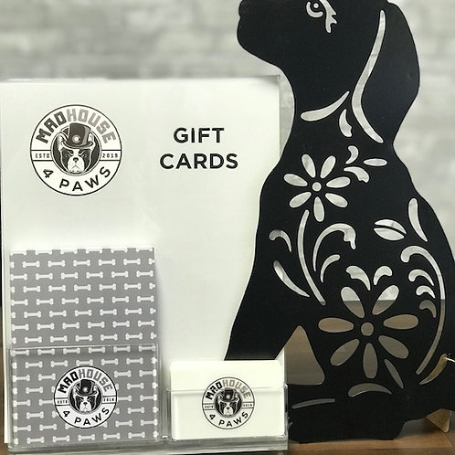 Gift card $150.00