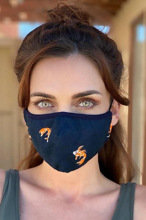 Koi fish face mask