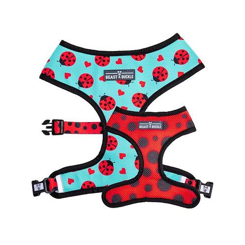 Ladybug Reversible Dog Harness
