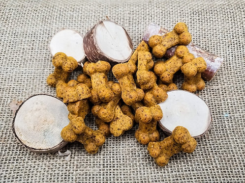 Cheesy Chicken Handmade Gourmet Dog Treats - 4 oz. Bag