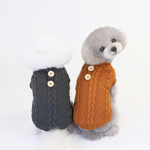 Pets Jacket Coat Clothes Sweater Winter Thickening